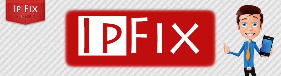 Logo WWW.IPFIX.DK – DANMARKS BILLIGSTE!