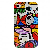 Iphone 4 Hardcase cartoon1
