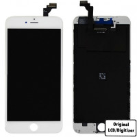 iPhone 6+ - LCD/Digitizer - Original - Hvid